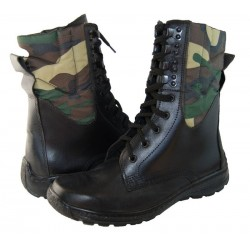Tactical Khaki Camouflage Boots