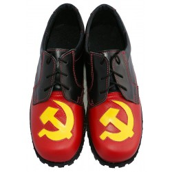 Cosplay Russian USSR Shoes Boots