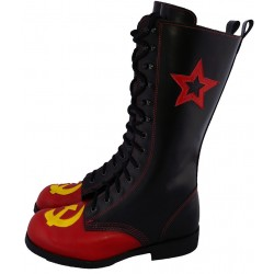Hammer Sickle Cosplay Gothic Combat Boots