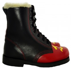 Soviet Winter Hammer Sickle Combat Boots